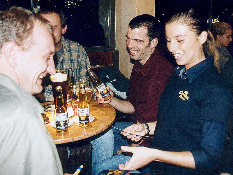 Gastro Promotion F R Corona Bier