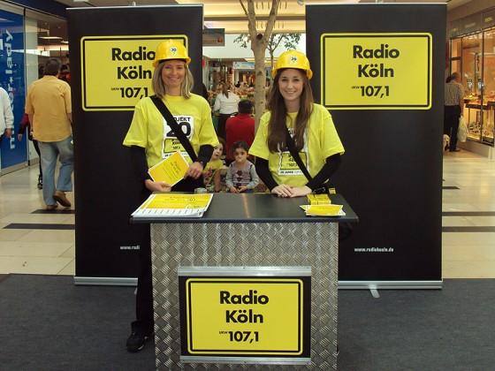 Lokalprogramm – Promotions für Radio-Köln, Radio-Erft & Co.