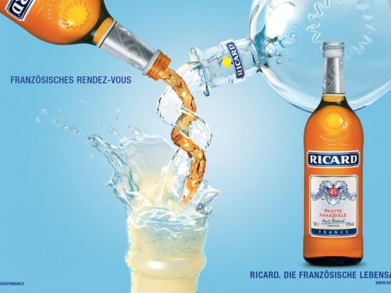 Pernod-Ricard. Broschüren, Plakate, Werbeartikel, Flyer und Co.