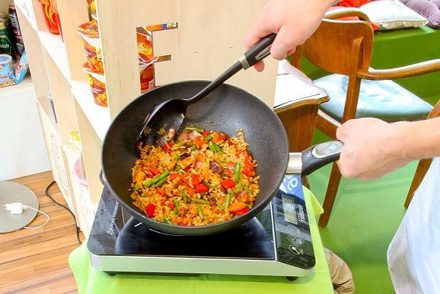 Essen wie selbst gekocht. POS Verkostung von Innovation 'Youcook'
