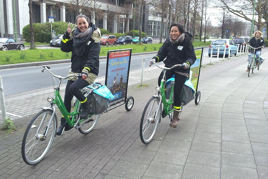 Für den Niederrhein-Tourismus auf Promotion-Tour durch NRW