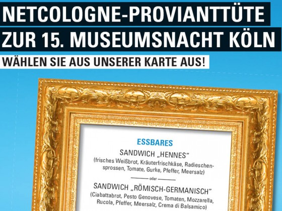 Museumsnacht in Köln – Ein kurios-kulinarisches Event für NetCologne