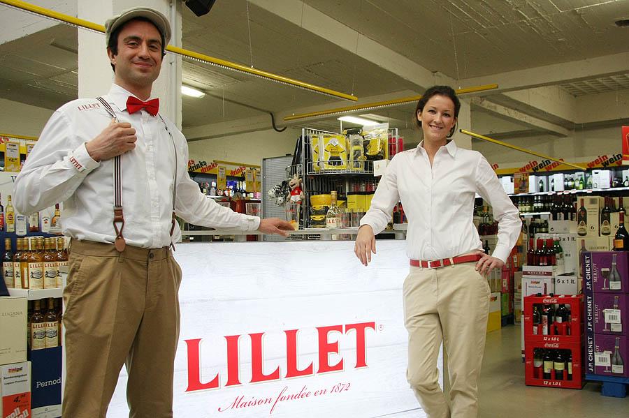 Bundesweite Handels-Promotion für französisches Trendgetränk 'Lillet'