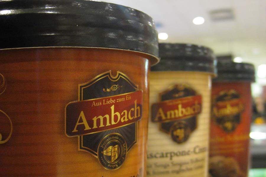 Markteinführung von Ambach Eiscreme im deutschen Handel