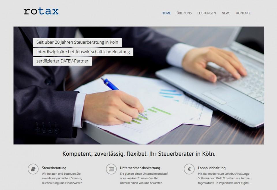 Steuerberater Webseite – stylisch, modern und trotzdem seriös
