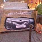Opel Autozentrum West Guerillamarketing Köln Adsolution