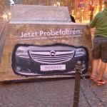 Opel Autozentrum West Guerillamarketing Köln Adsolution
