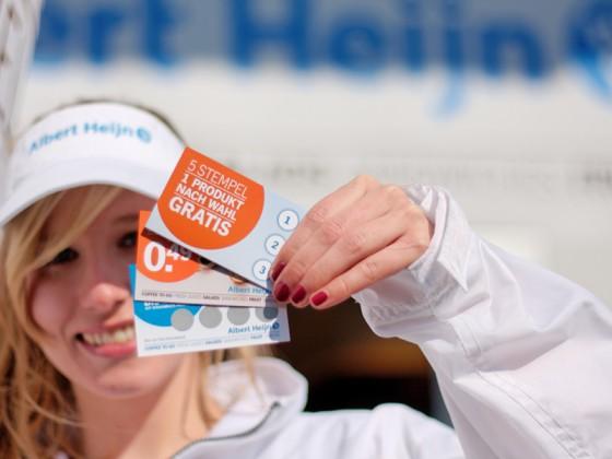 POS-Promotion und Sampling für holländischen Marktführer Albert Heijn