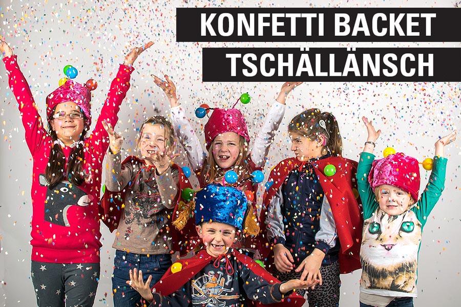 """Karnevalspromotion """"Konfetti Backet Tschällänsch"""" für NetCologne"""