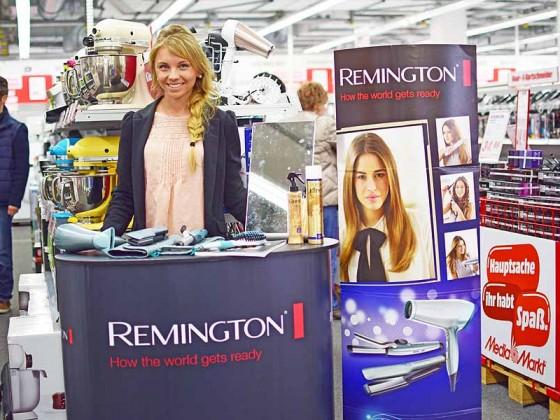 Bundesweite POS Promotion bei Saturn & Co. für Remington