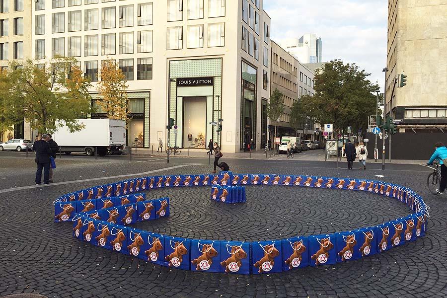 Nationale Guerillamarketing- und POS-Kampagne für Bärenmarke