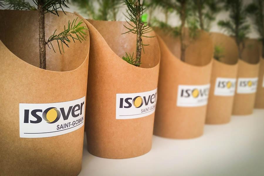 Neukunde Saint Gobain: Isover Weihnachtspromotion 2015