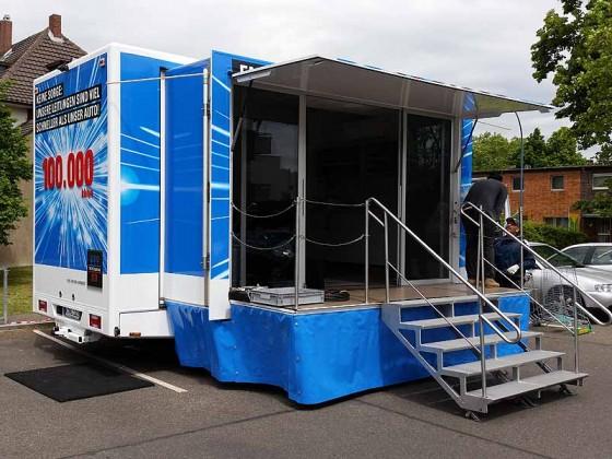 Unterwegs in NRW: Roadshow mit dem NetCologne Promotion-Truck