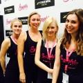 Sportlich-sportlich: Unsere Mädels auf der FIBO in Köln