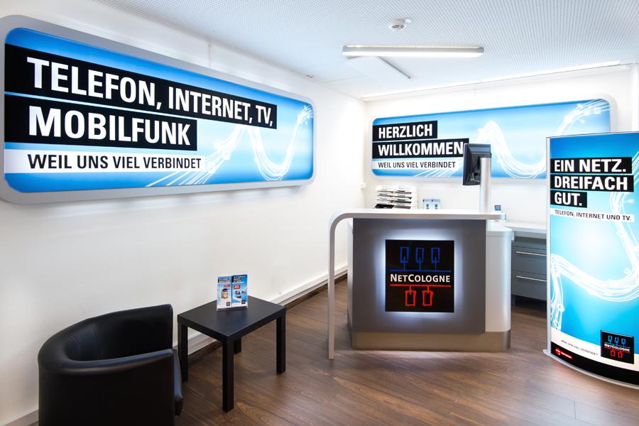 Verkaufsberater/in für NetCologne-Shop in  Köln  gesucht (Teilzeit)