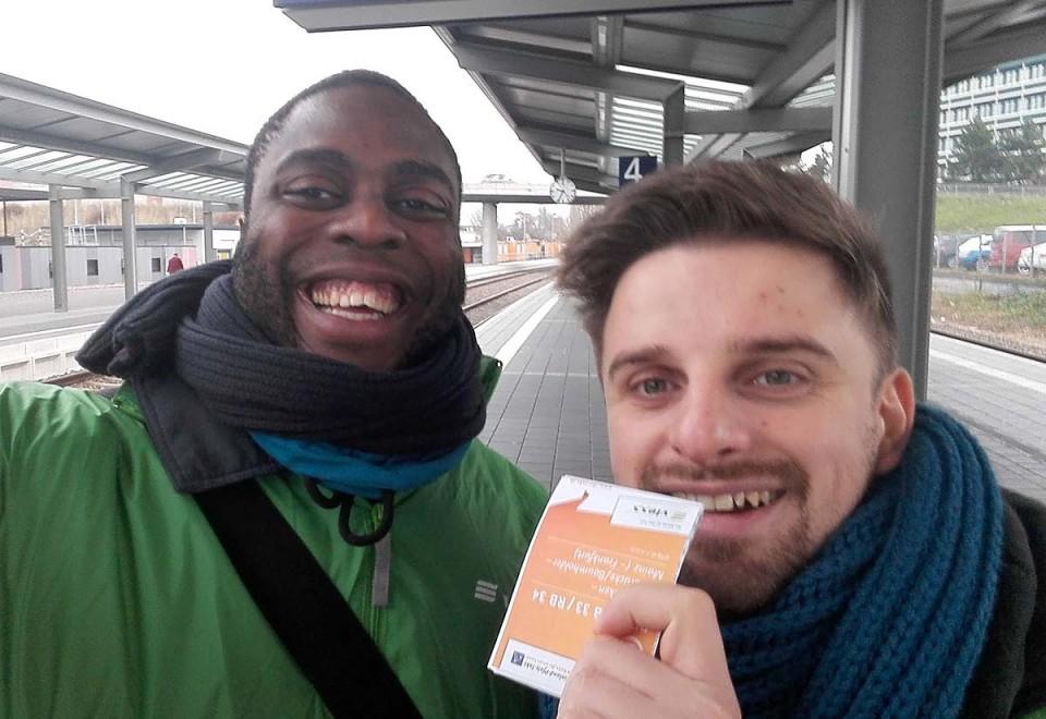 Promotion im ÖPNV zum Fahrplanwechsel der vlexx-Bahn