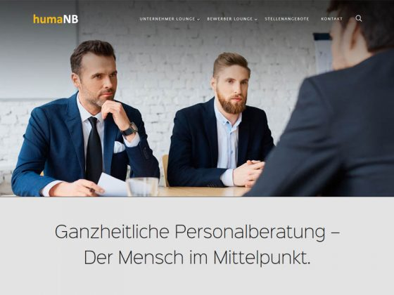 Webdesign für Kölner Personalberater und HR-Consultants